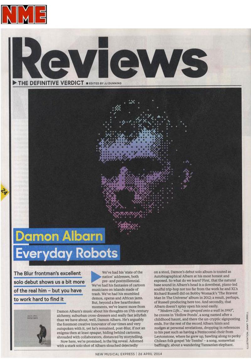 NME <br/> 26 April 2014