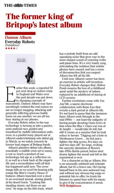 The Times <br/> April 2014