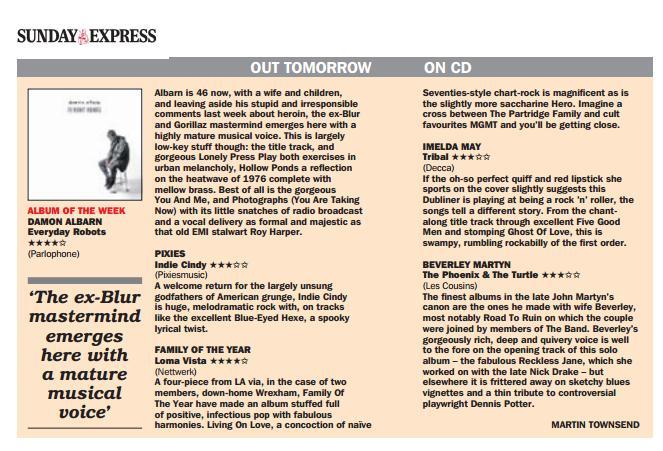 Sunday Express, 27 April 2014