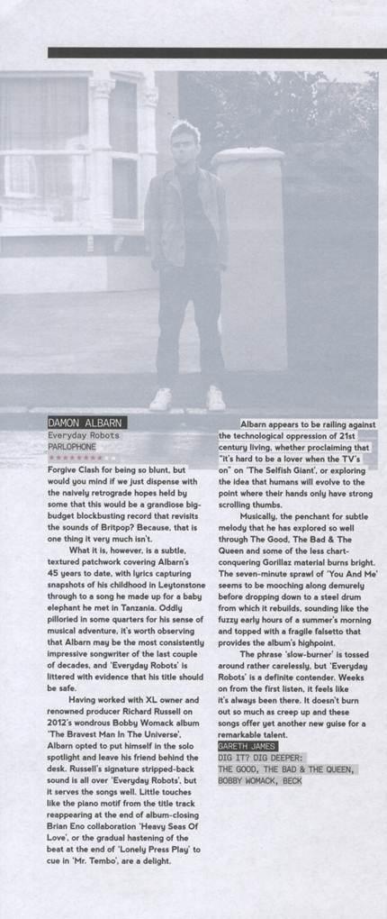 Clash Magazine <br/> May 2014