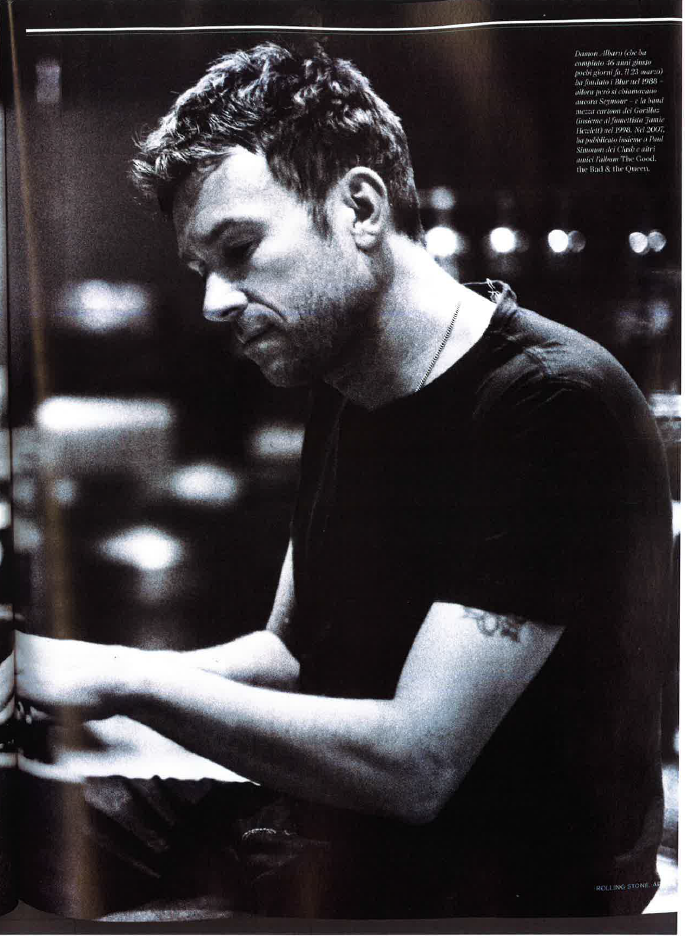 Interview with Rolling Stone Italy <br/> April 2014
